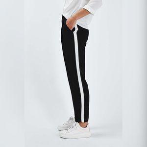 Calvin Rucker Side Stripe Ankle Pants